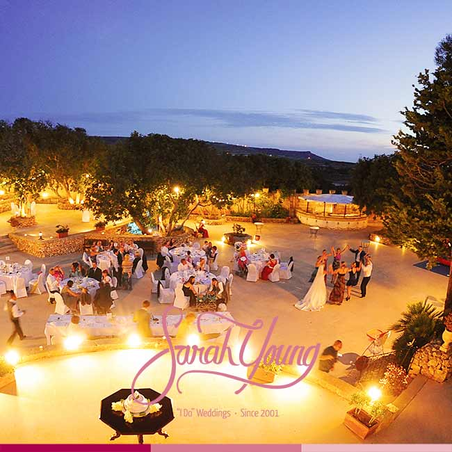 Garden Venues Wedding Planner Malta