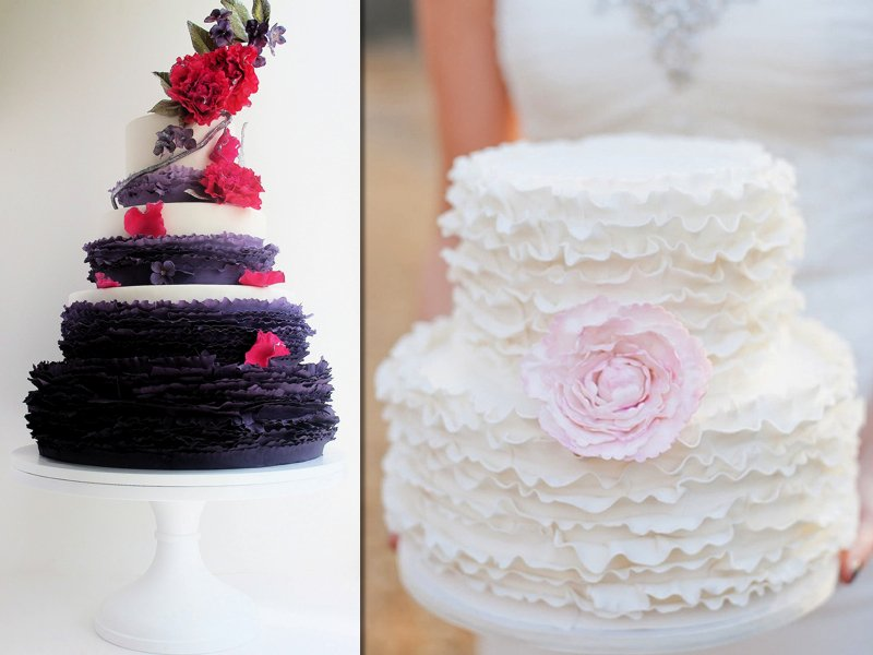 Wedding Cake Ruffles