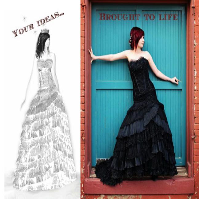 Image courtesy of wedding dress fantasy
