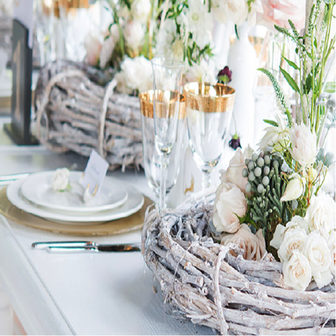 Image courtesy of decor by Wedding Star