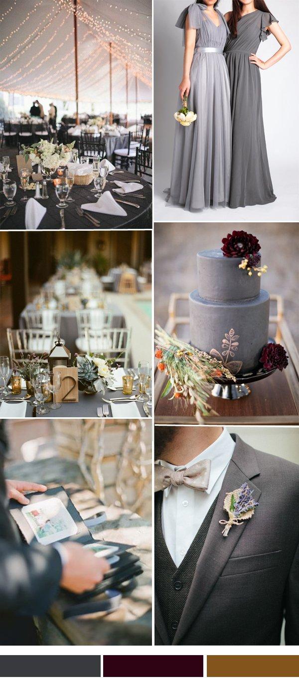 charcoal-grey-and-marsala-wedding-color-combo-ideas-2015