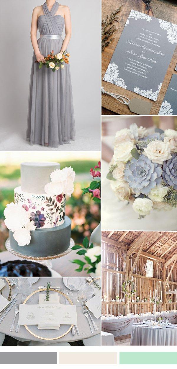 gray-wedding-color-ideas-for-fall-winter-wedding-2015