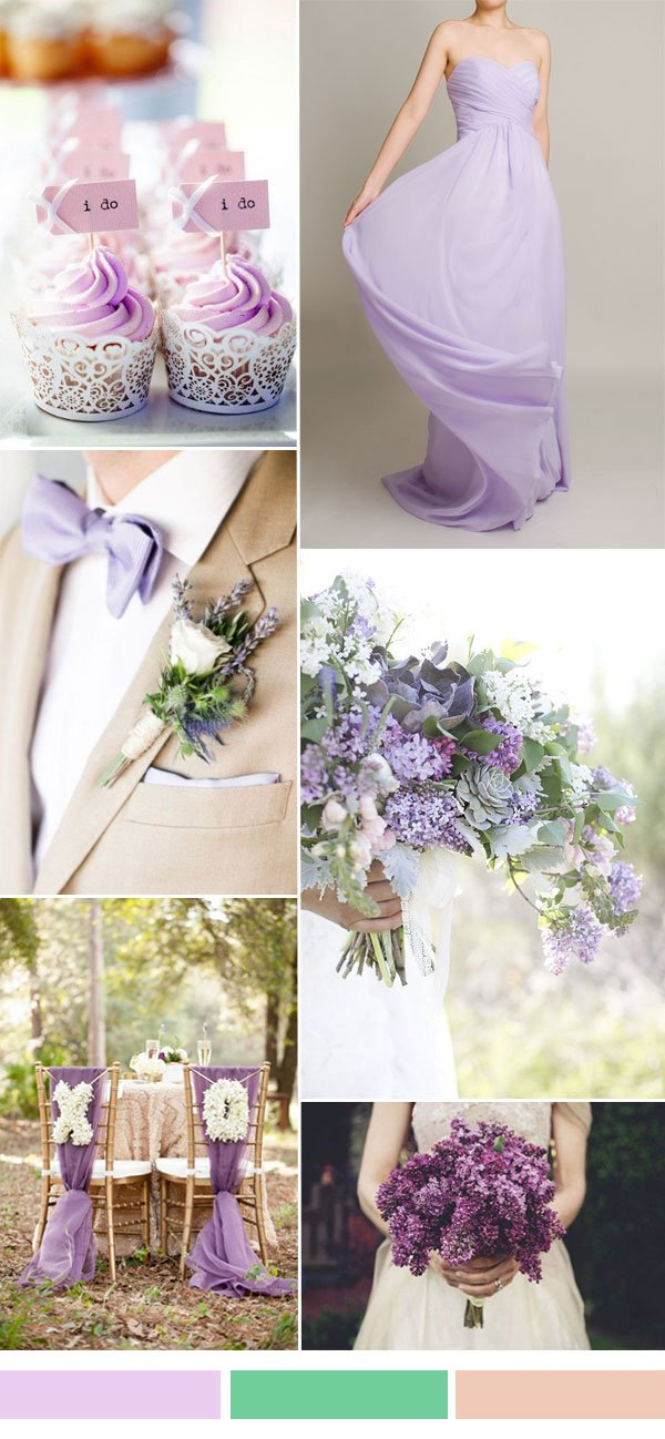 lilac-light-purple-wedding-color-ideas-for-spring-summer-wedding-2016