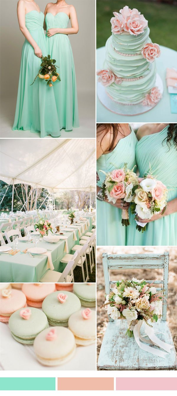 mint-and-peach-wedding-color-inspiration-ideas
