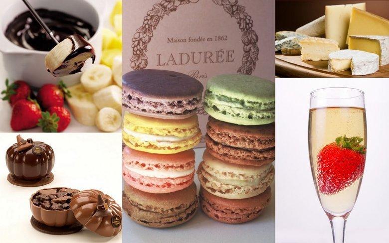 Image courtesy of: 1. Om Sweet Om | 2. Maison Ladurée | 3.  Vive le Cheese  | 4. La Maison du Chocolat | 5.  i like granola