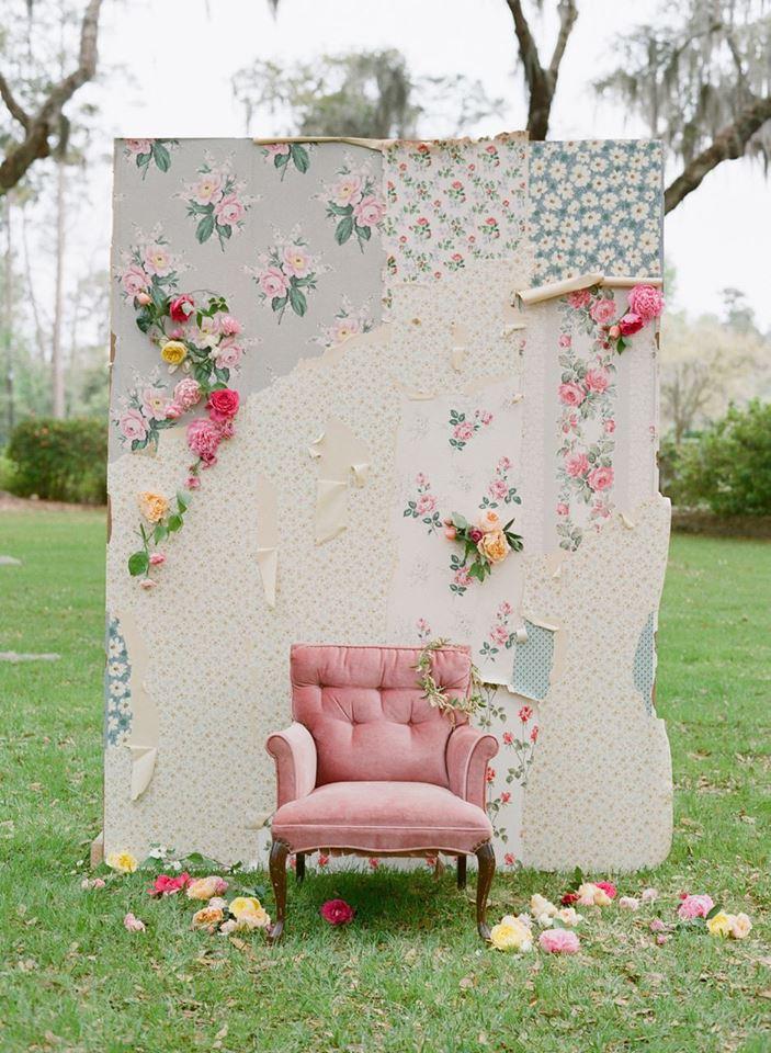 Vintage Wallpaper Backdrop
