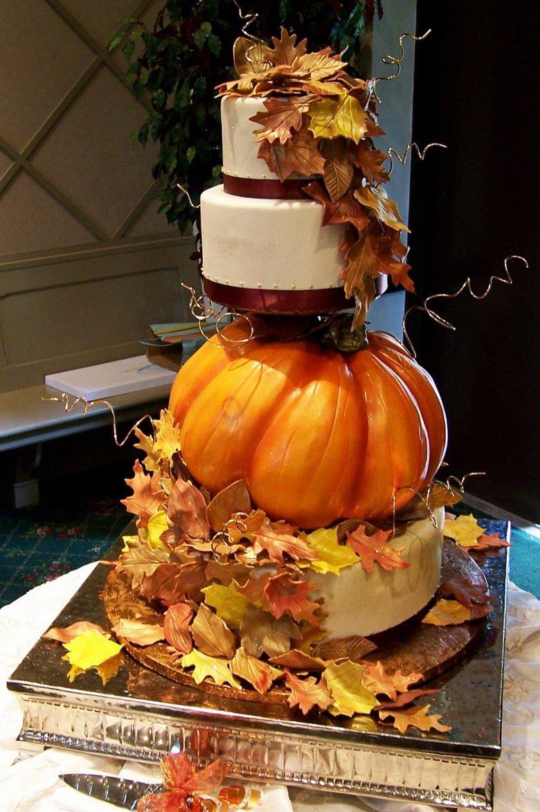 pumpkin-wedding-cake-week-2